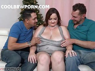 Bbw milf acquires group-sex