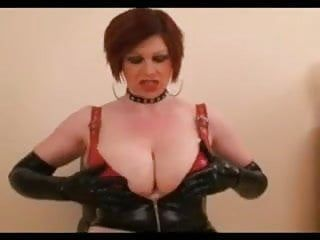 Large pointer sisters short hair latex milf with sex-toy