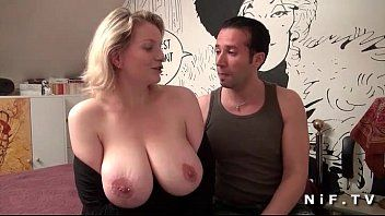 Large boobed french milf wazoo stuffed