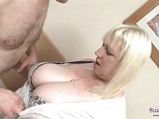 Bbw milf jo juggs acquires her large love muffins and taut bawdy cleft pounded