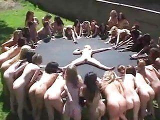 レズビアンの潮吹きパーティー