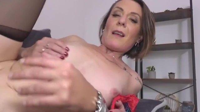 Nasty mama ania receives juvenile schlong in all holes