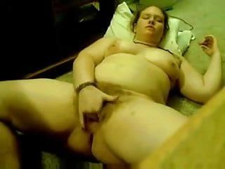Astounding homemade vid with overweight me fingering my bushy vag