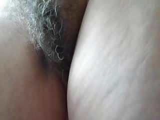 My bushy older wife non-professional homemade vid