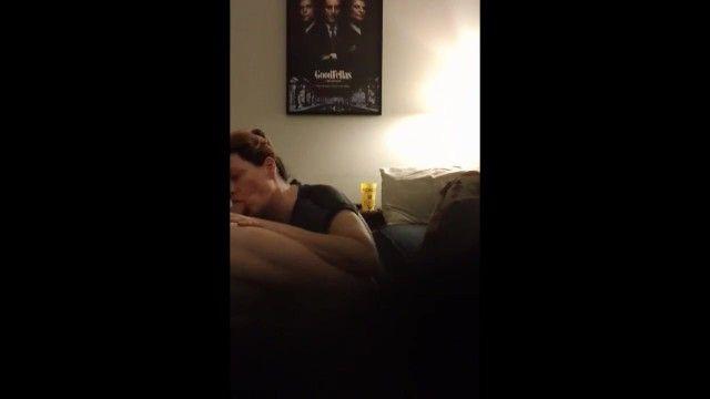 Hot milf nearly puke my cum