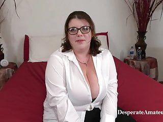 Casting nikki, despairing amateurs, bbw milf with large bumpers